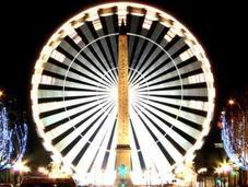 ruota panoramica torna Place Concorde
