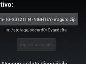 CyanogenMod: rilasciata CM10 Nightly 20121114