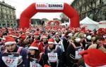 Babbo Running, corsa Babbi Natale Milano