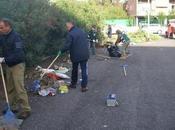 torrevecchia l'associazione roma ripulisce parcheggio un'area verde! lotta degrado ferma