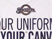 Brewers cercano tifosi designer nuova maglia