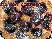 Crostatine all'uva (fragola) marmellata Prugne Frolla all'olio allo Zenzero