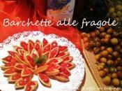 Barchette pasta frolla farcite crema fragole