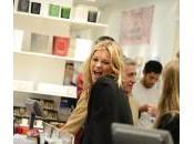 "Kate Moss, look brivido"" Parigi"