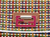 Must have: Fendi multicolor woven clutch