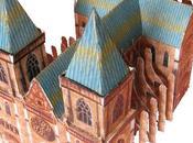 Costruire cattedrale gotica carta