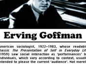 Goffman: l'interazione focalizzata