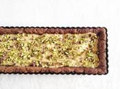 Crostata cacao pistacchi