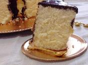 Angel Cake Lime Curd Glassa Specchio