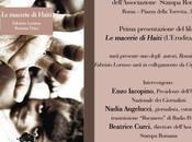 macerie Haiti Prima presentazione libro Roma!