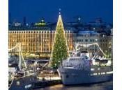 Stoccolma, l'albero Natale alto mondo metri)