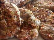 Bistecche coppa maiale marinate