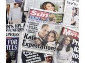 """Kate Middleton incinta"": prime pagine tabloid britannici"