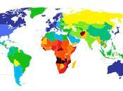 Mappa mondiale della longevita'