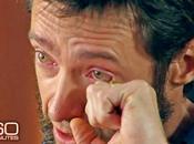 tenerissimo Hugh Jackman lacrime racconta l'abbandono della madre