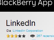 Rilasciata l'app LinkedIn smartphone BlackBerry