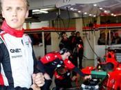 Chilton alla Marussia 2013
