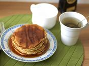 American Breakfast Recipe Sunday morning with Pancakes