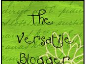 versatile blogger! premio