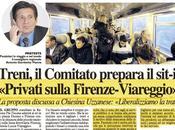 """Privati sulla Firenze-Viareggio, Vignali Benedetti Chiesina Uzzanese:""""Liberalizzare tratta""""."""
