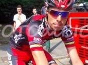 Brutto infortunio allenamento Alessandro Ballan
