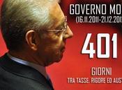 Governo Monti, bilancio negativo tasse, tagli tante promesse