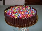 Torta cioccolato smarties