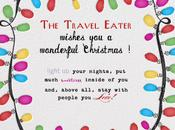 Travel Eater Wishes Wonderful Christmas