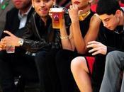 Rihanna: Natale allo stadio insieme Chris Brown