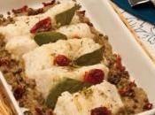Baccalà forno crema lenticchie