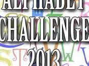 Alphabet challenge 2013