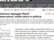 appoggi Monti, Leccaculo Comunione Liberazione Pier Luigi Bersani Modello Stato Sociale della Caritas