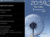 dettagli dell'aggiornamento Jelly Bean 4.1.2 Galaxy