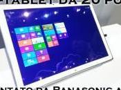 Tablet pollici risoluzione Ultra presentato Panasonic
