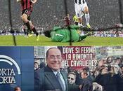 Ascolti milioni quarto finale Coppa Italia Juventus-Milan. Porta porta ospite Berlusconi
