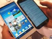 Samsung Galaxy Note Huawei Ascend Mate: confronto video