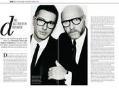 Domenico Dolce Stefano Gabbana Elle Germany