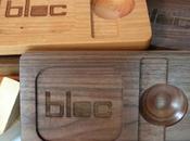 BLOC: elegante accessorio Apple Noce