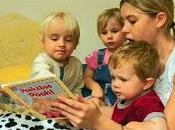 Leggere fiabe bambini