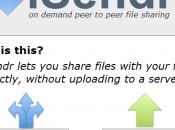 iSendr: demand, condividere file internet
