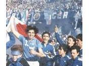 Stagione '89-'90 Napoli beffando Milan fotofinish Simone Clara)