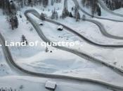Nuovo spot Audi Italia Land quattro