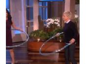 Catherine Zeta-Jones maestra hula hoop Ellen DeGeneres