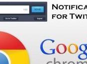 Notifications Twitter: come scrivere tweet ricevere aggiornamenti direttamente Chrome