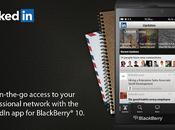 LinkedIn dispositivi BlackBerry preinstallato