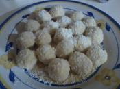 Palline cioccolato bianco coco