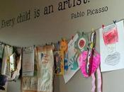 Come conservare, esporre utilizzare l'arte bambini