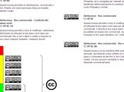 """Licenze d'Uso Creative Commons """"traffic light"""", cioè semaforo della condivisione approccio """"web 2.0″"""