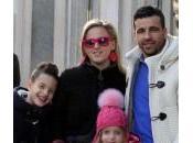 Antonio Natale, shopping Corso Venezia moglie figli