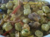 Gnocchi patate spinaci alle vongole